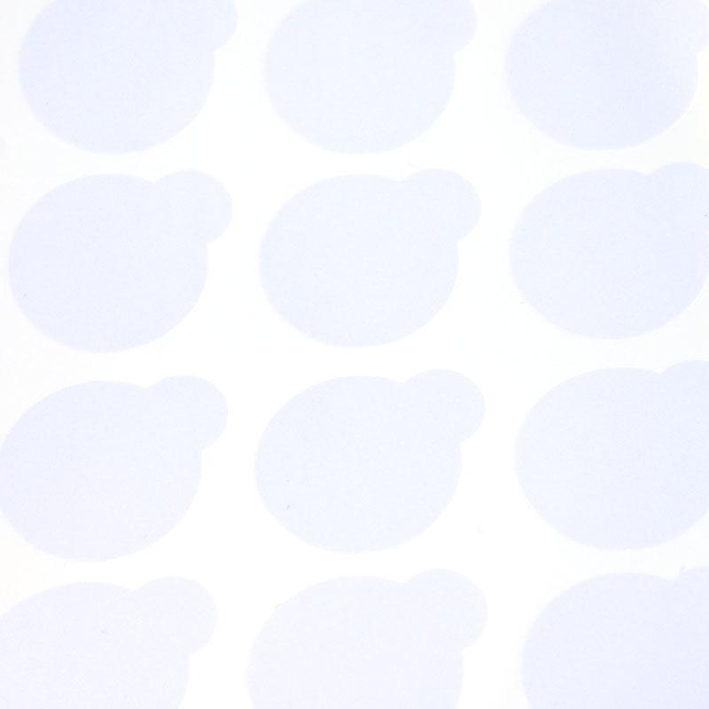 Naklejki jednorazowe pod klej 1×20 sztuk