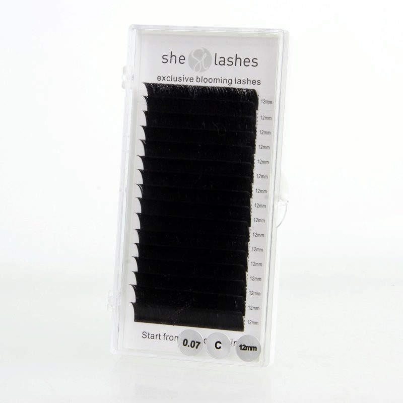 Rzęsy exclusive blooming lashes 0,07 mm, skręt C